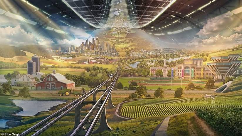 Estas son las colonias espaciales que el dueño de Amazon propone construir en el espacio