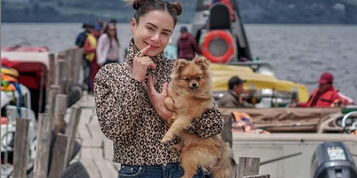 Johanna Fadul es atacada por pasear a su perro en un coche