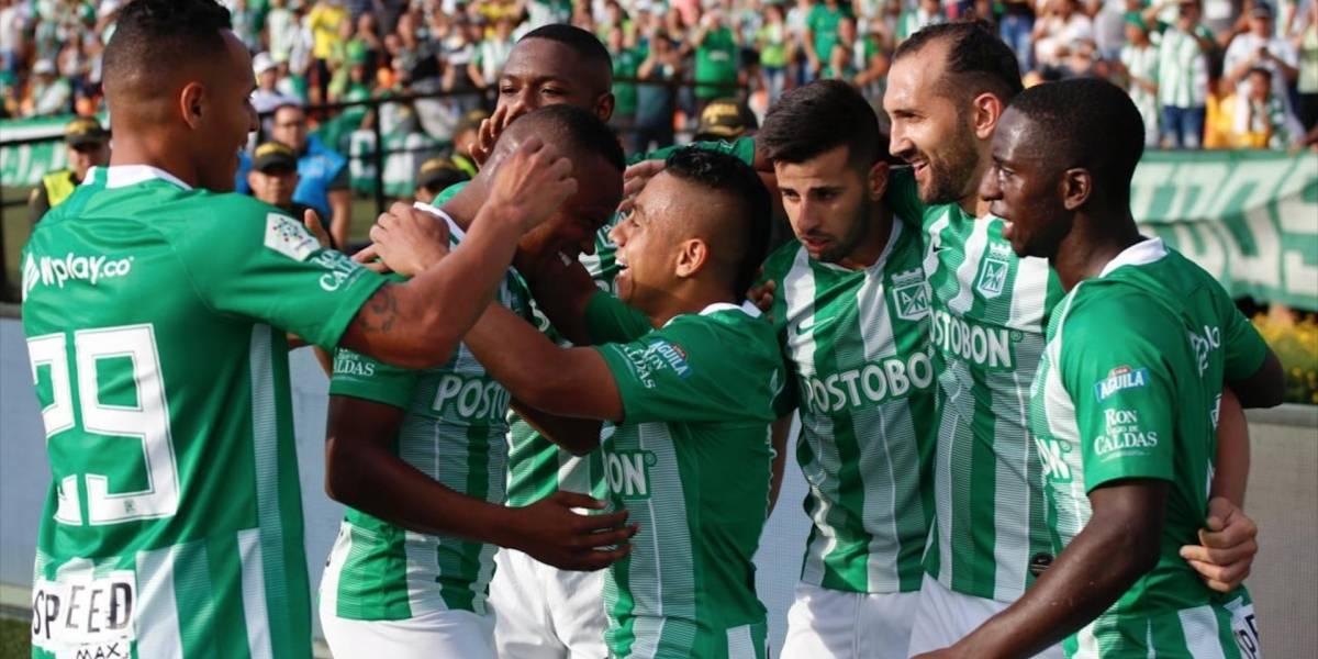 Atlético Nacional presenta el 'proyecto Osorio' en partido amistoso contra Lanús en el Atanasio