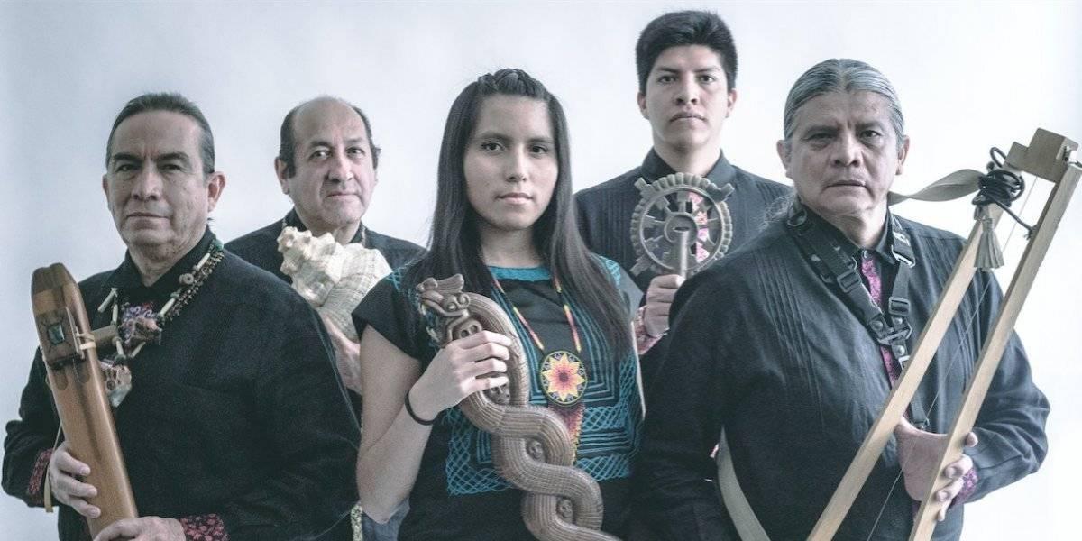 Tribu hace florecer la música y raíces prehispánicas