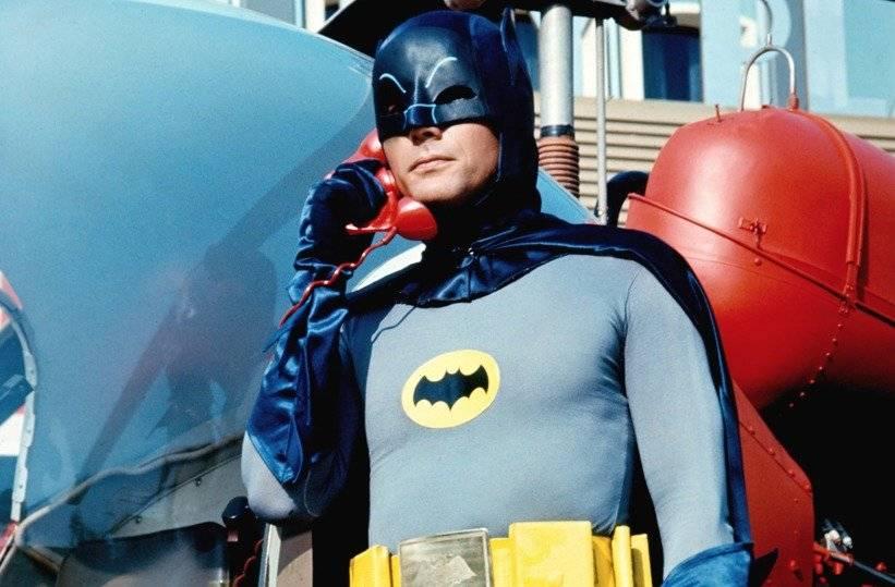 Adam West en Batman