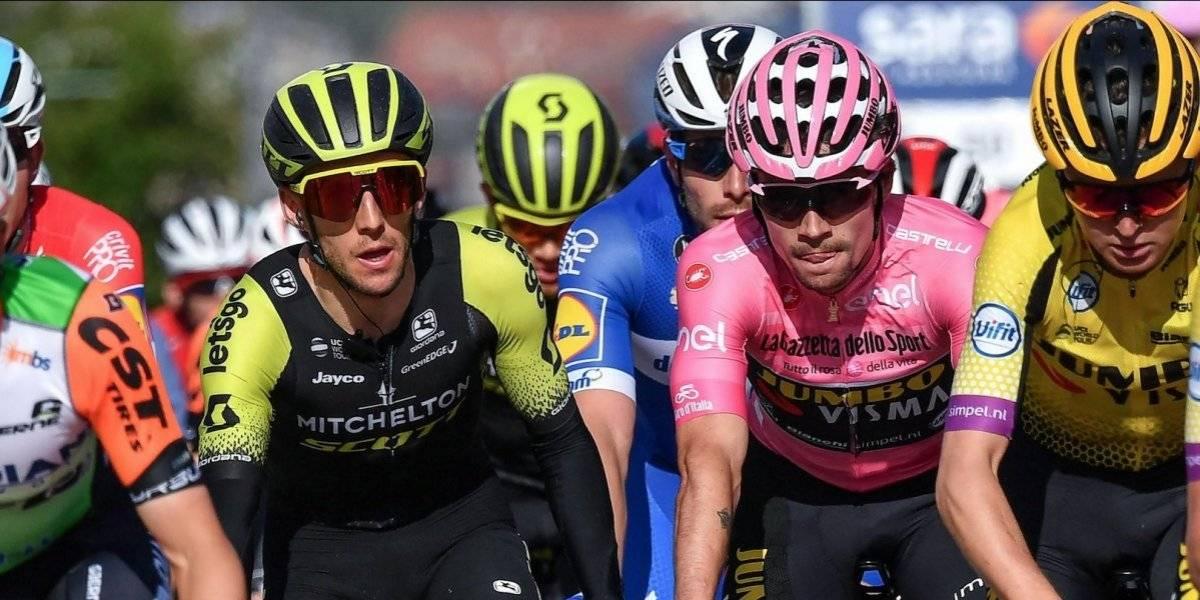 El Giro superó una etapa engañosa, camino a la montaña