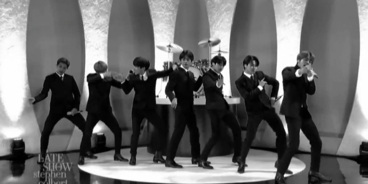 BTS emula a los Beatles en la TV estadounidense