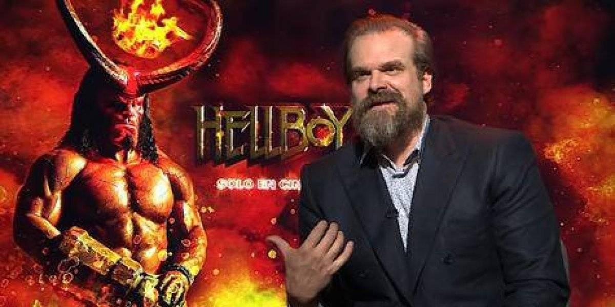 """David  Harbour: """"El Nuevo Hellboy es más oscuro y más violento"""""""