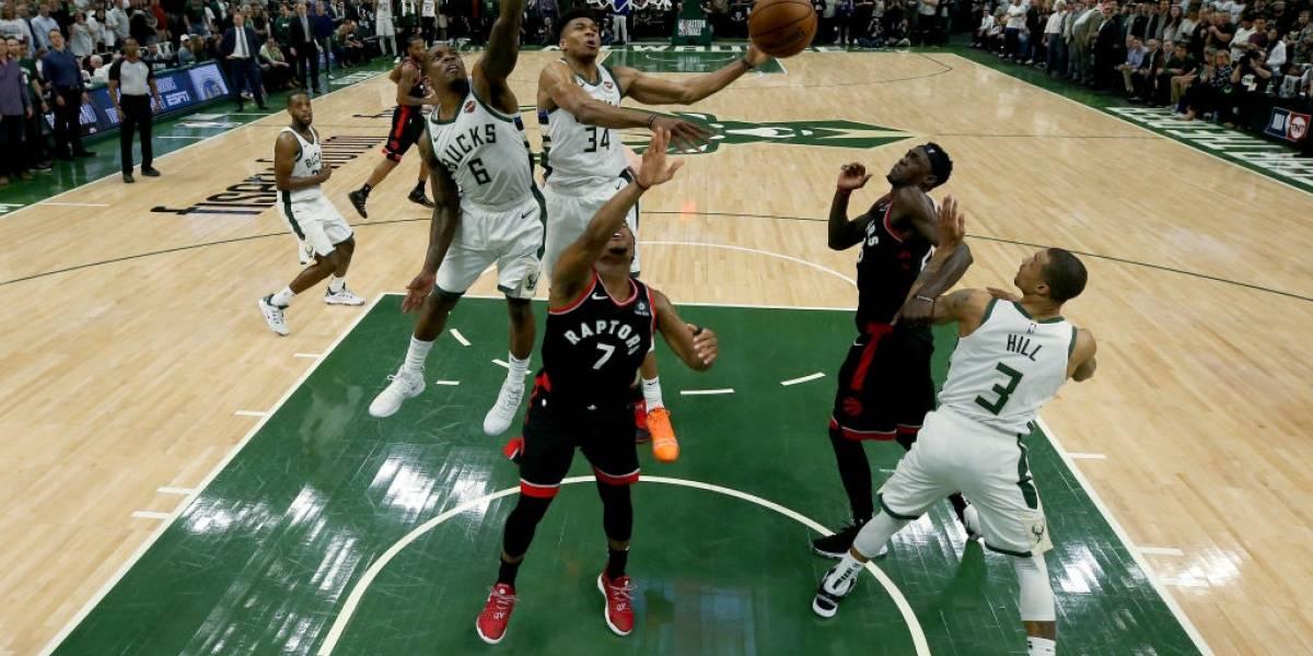 NBA: Milwaukee Bucks dio el primer golpe ante Toronto Raptors en la final de la Conferencia Este