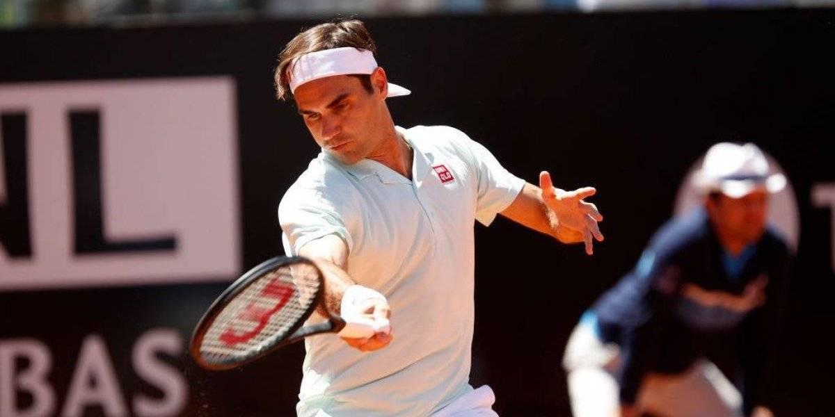 Roger Federer y Rafa Nadal avanzan mientras que Dominic Thiem cae en el Masters 1000 de Roma