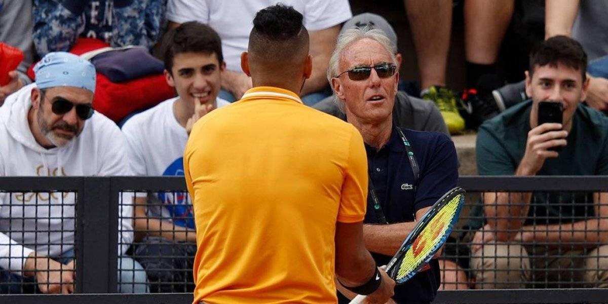 """La ATP se lanza encima de Nick Kyrgios y le aplica las """"penas del infierno"""" tras su triste show en Roma"""