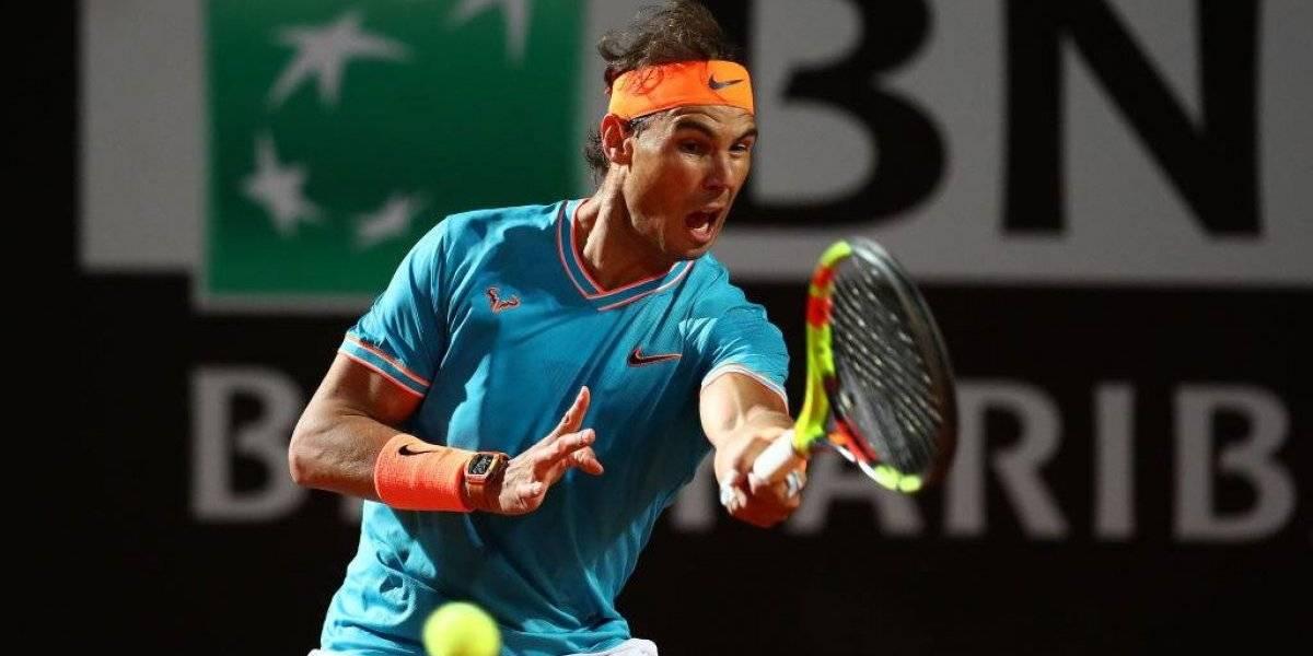 Bestial: Nadal ganó dos partidos en un día en Roma y perdió apenas dos juegos