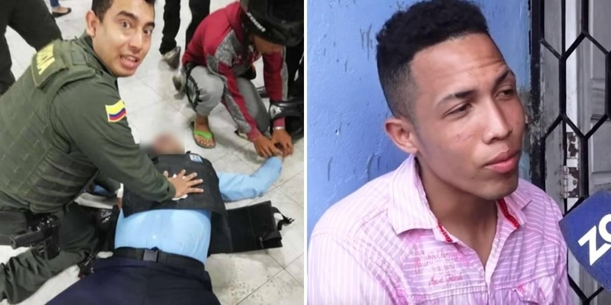 Aparece hombre acusado de robar reloj a vigilante mientras le salvaban la vida