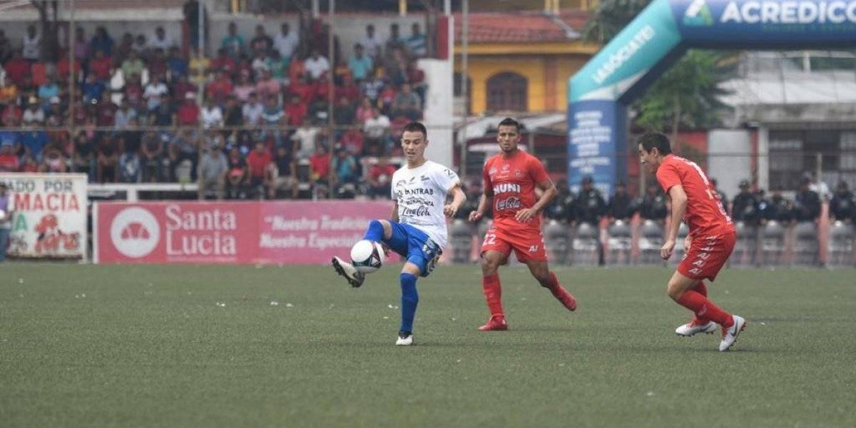 Cobán Imperial se lleva un buen resultado del estadio Santa Lucía
