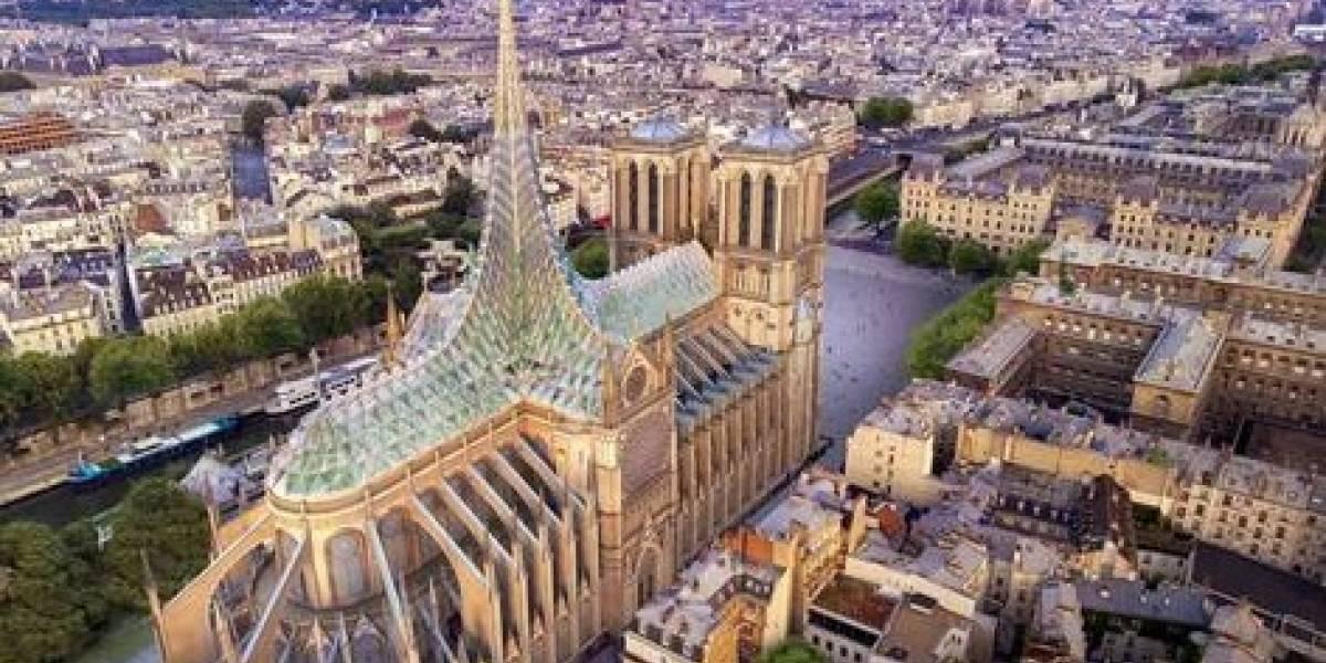 Un nuevo diseño sostenible para Notre Dame