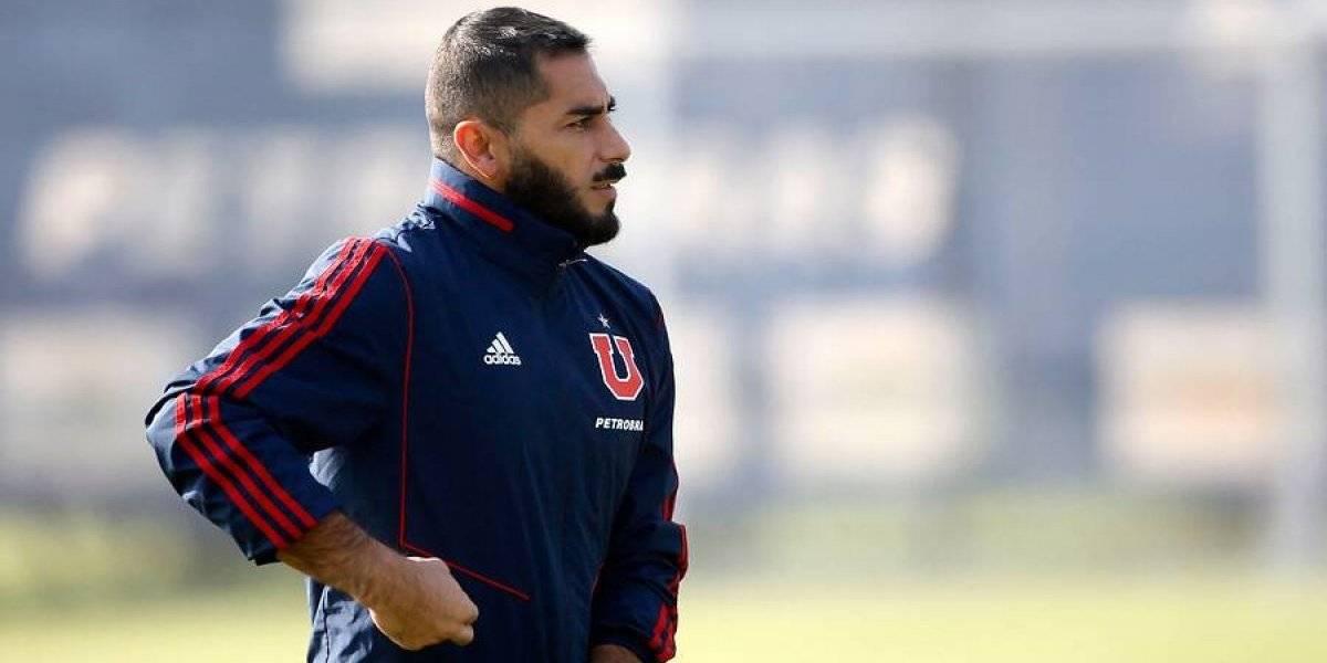 Johnny Herrera no fue convocado por Arias en la U y se perderá el Superclásico ante Colo Colo