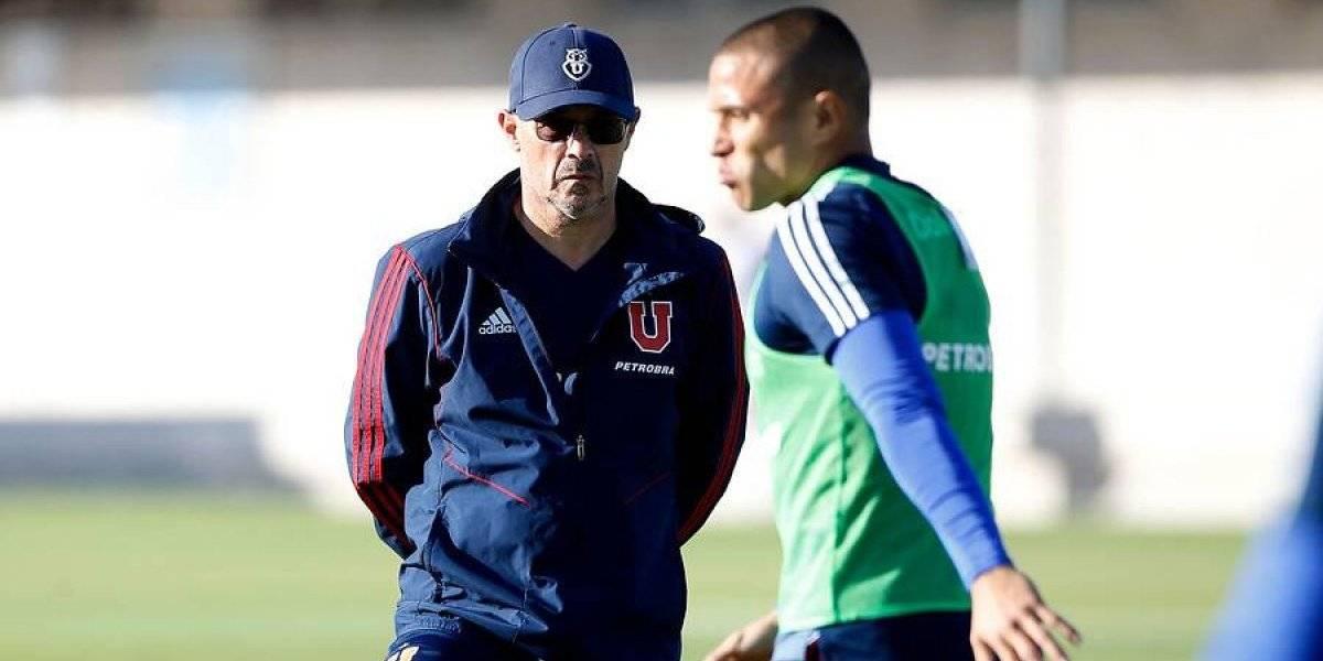 Arias decide usar tres delanteros en la U para enfrentar el Superclásico contra Colo Colo
