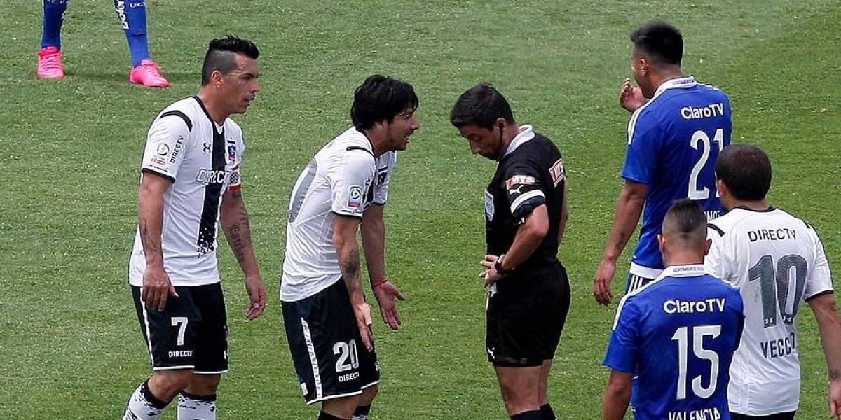Eduardo Gamboa será el árbitro para el Superclásico entre la U y Colo Colo