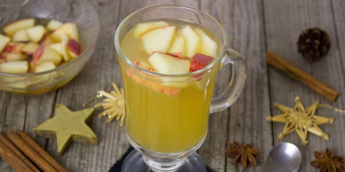 Suco detox de maçã e gengibre acelera o metabolismo e ajudar a desinchar