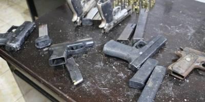 armas y explosivos decomisados tras requisa en Pavón