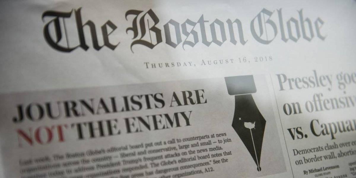 Sospechoso admite haber amenazado de muerte a periodistas del Boston Globe