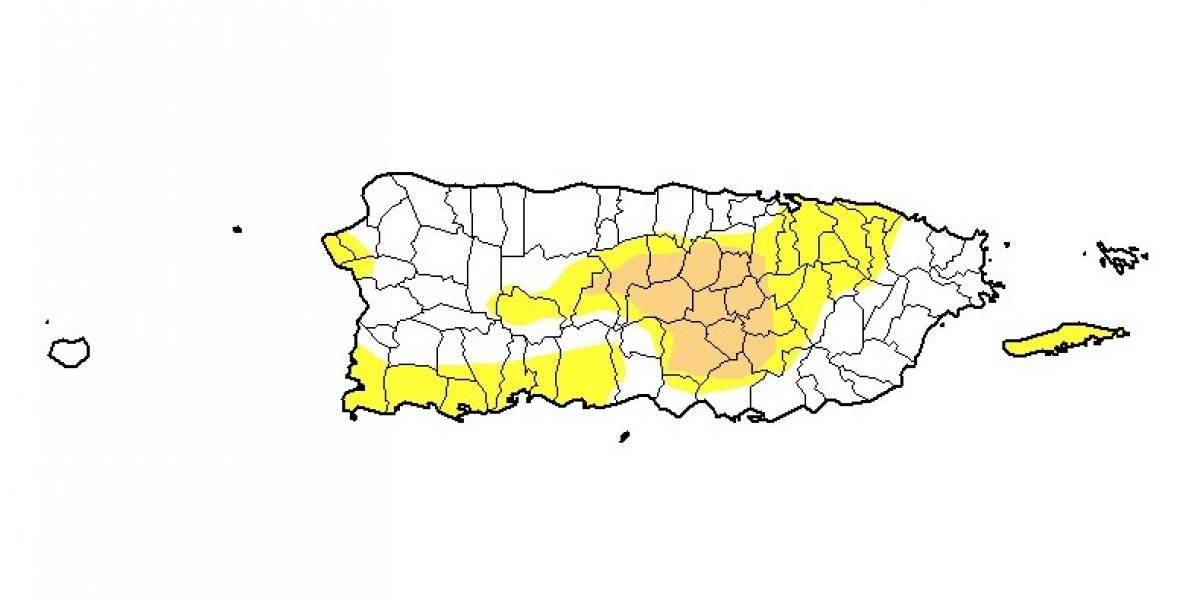 Nuevamente leve descenso en niveles de sequía