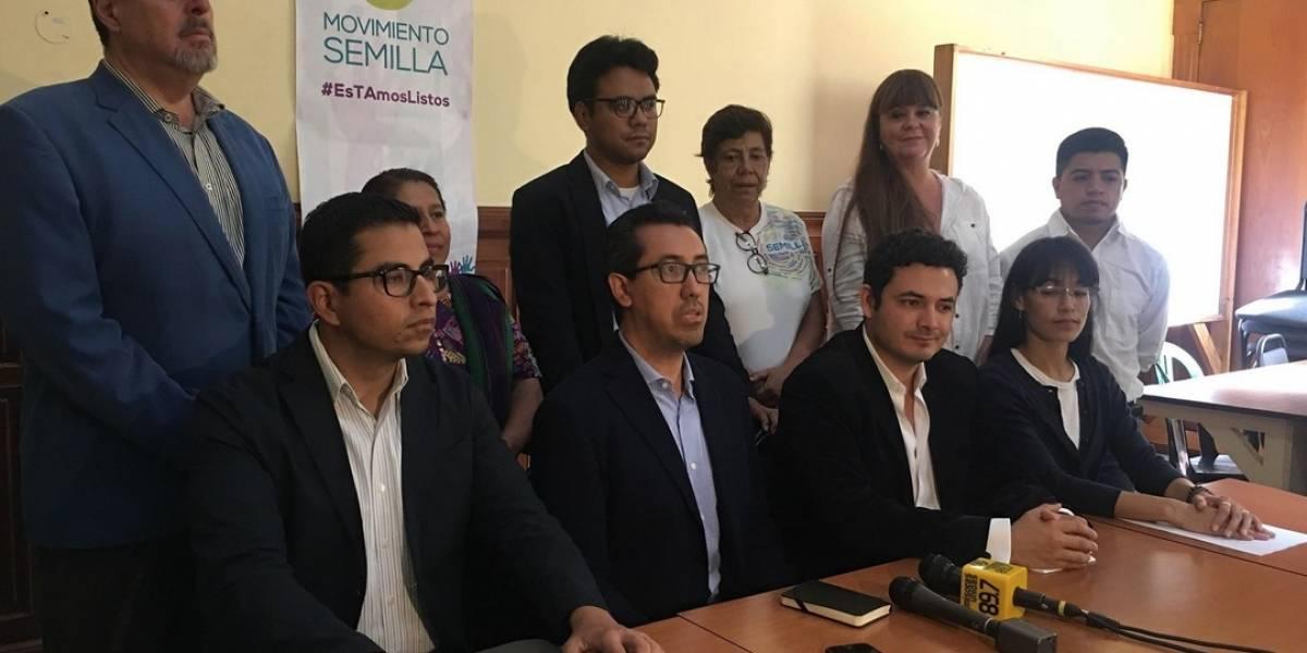 Movimiento Semilla se enfocará en el Congreso y municipalidades