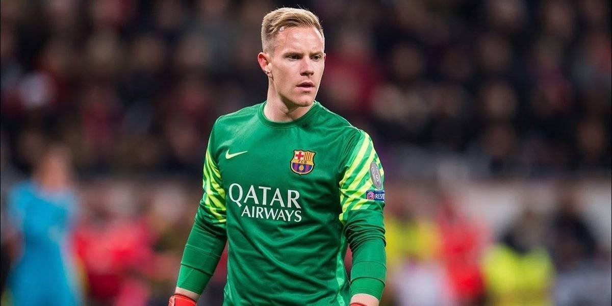 Ter Stegen es baja en el Barcelona a pocos días de la final de Copa del Rey