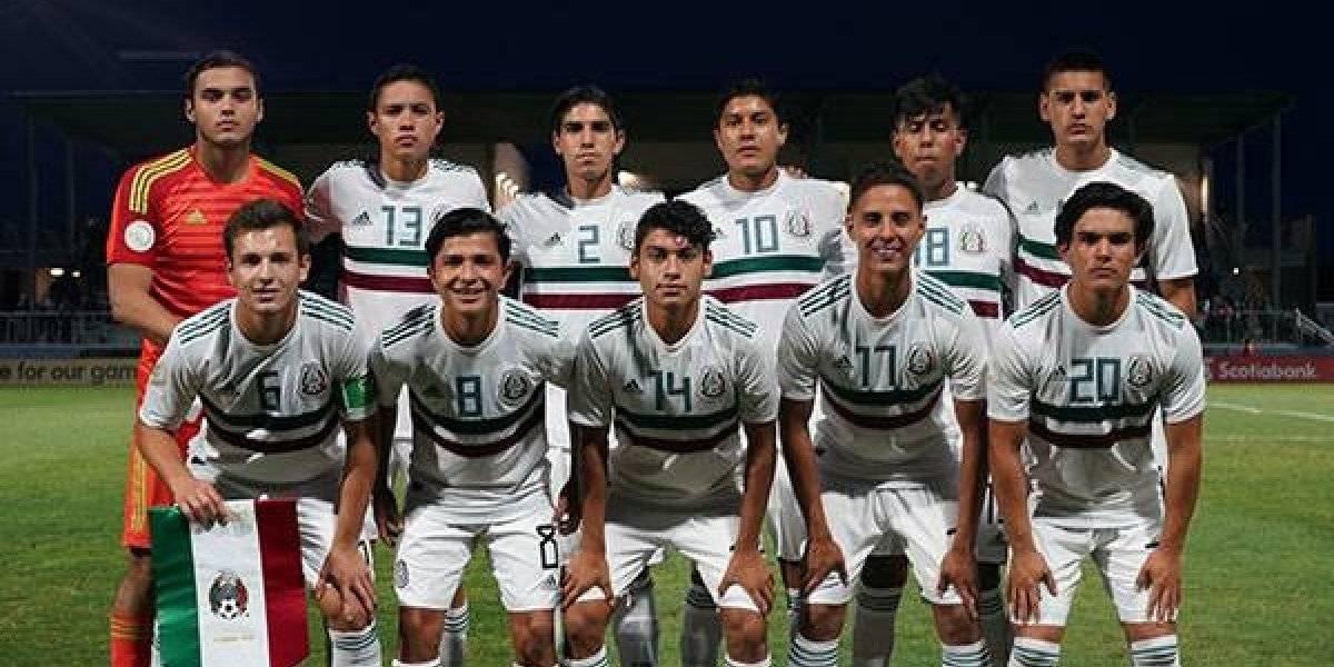 México supera a EU y se corona en el premundial Sub-17