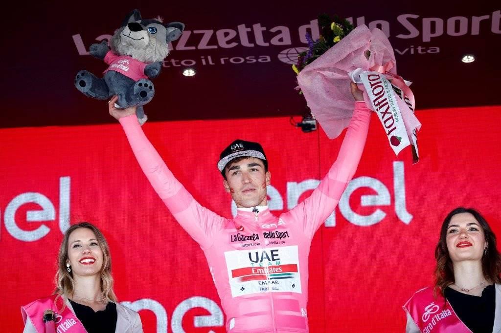 AFP | Valerio Conti es el nuevo líder del Giro de Italia