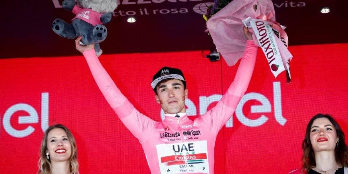 VIDEO. Valerio Conti nuevo líder del Giro de Italia