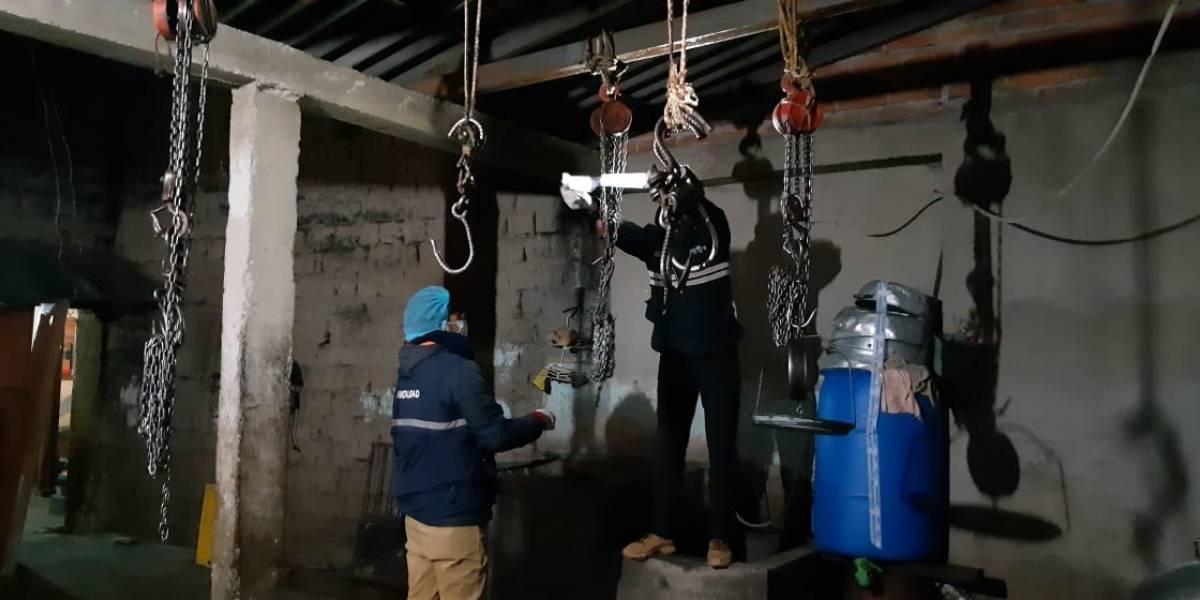 En Cuenca clausuran seis camales clandestinos
