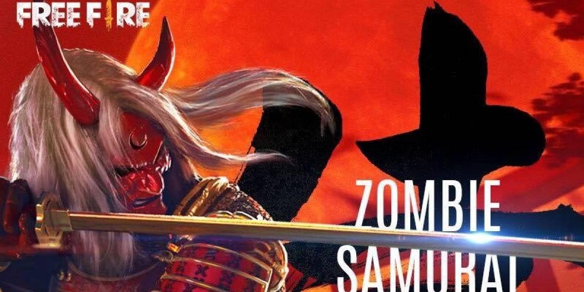 'Samurai Zumbificado': Garena libera novidade para 'sobreviventes' do game Free Fire