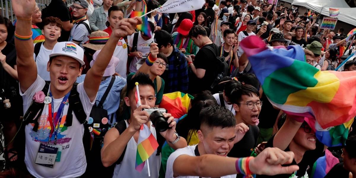 Taiwán se convirtió en el primer país asiático en legalizar el matrimonio homosexual
