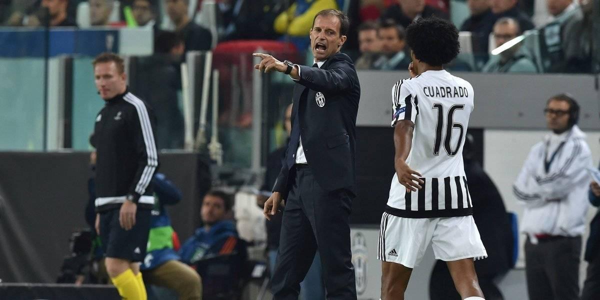 Temblor en la Juventus: Allegri no sigue, ¿se van Cristiano y Cuadrado?