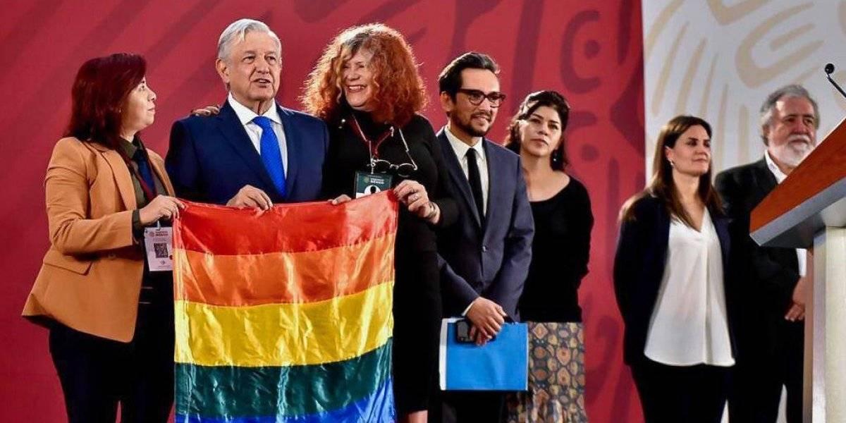 Decreta AMLO el 17 de mayo como Día Nacional contra la Homofobia