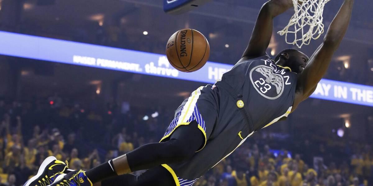 Warriors continúan ganando la serie contra Portland a pesar de ausencia de Durant