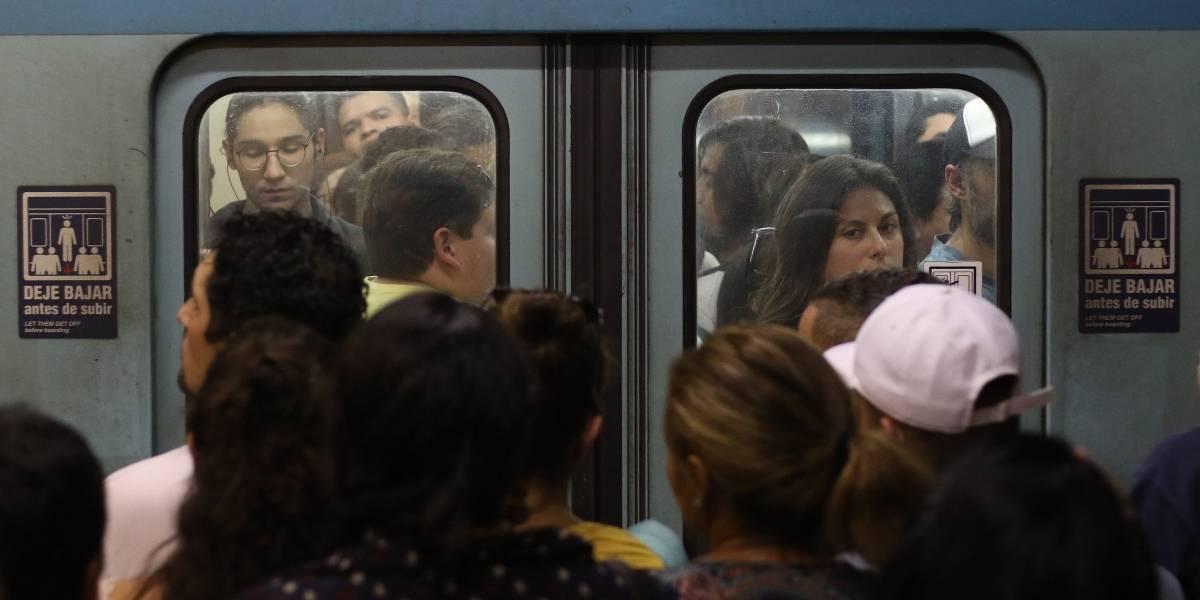 Mochila provocó operativo del GOPE en estación Santa Isabel del Metro