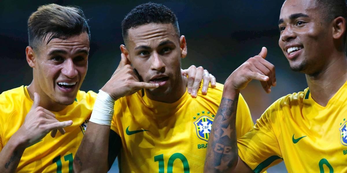 Brasil no se anduvo con rodeos y entregó la lista de 23 para su Copa América