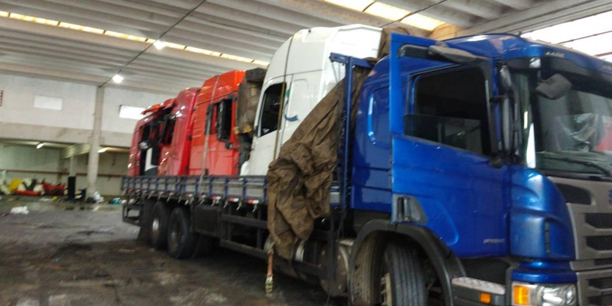 Quadrilha de Osasco desmanchava um caminhão em 5 horas