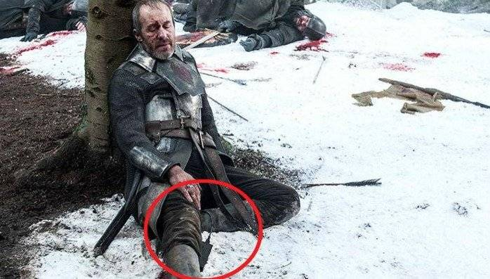 Game of Thrones Errores