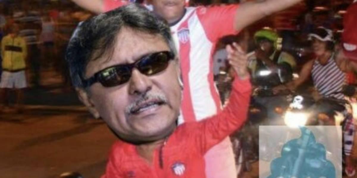 Los memes que ha suscitado la recaptura de Santrich minutos después de estar en libertad