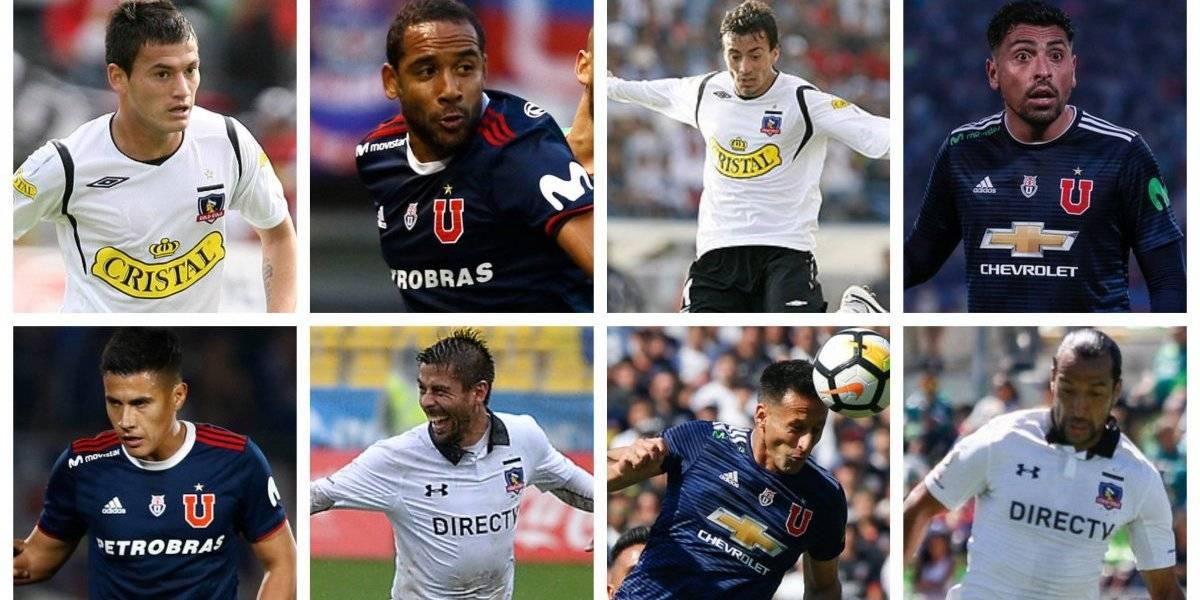 De blanco y azul: Los 72 futbolistas que pasaron por Colo Colo y la U