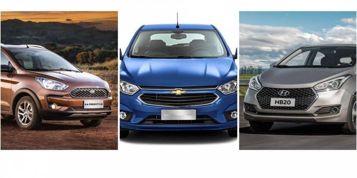 Estes são os 3 carros mais vendidos do Brasil para o mês de abril de 2019, segundo a Fenabrave