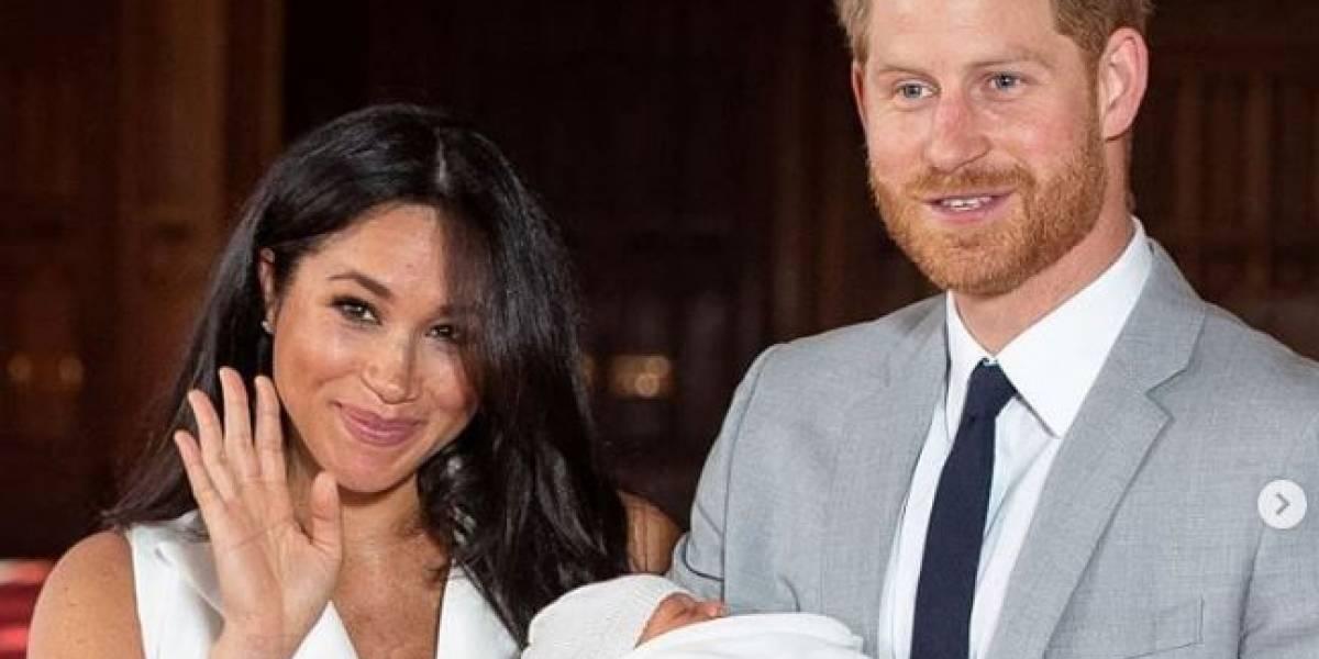 Meghan Markle y el Príncipe Harry celebraron así un año de casados