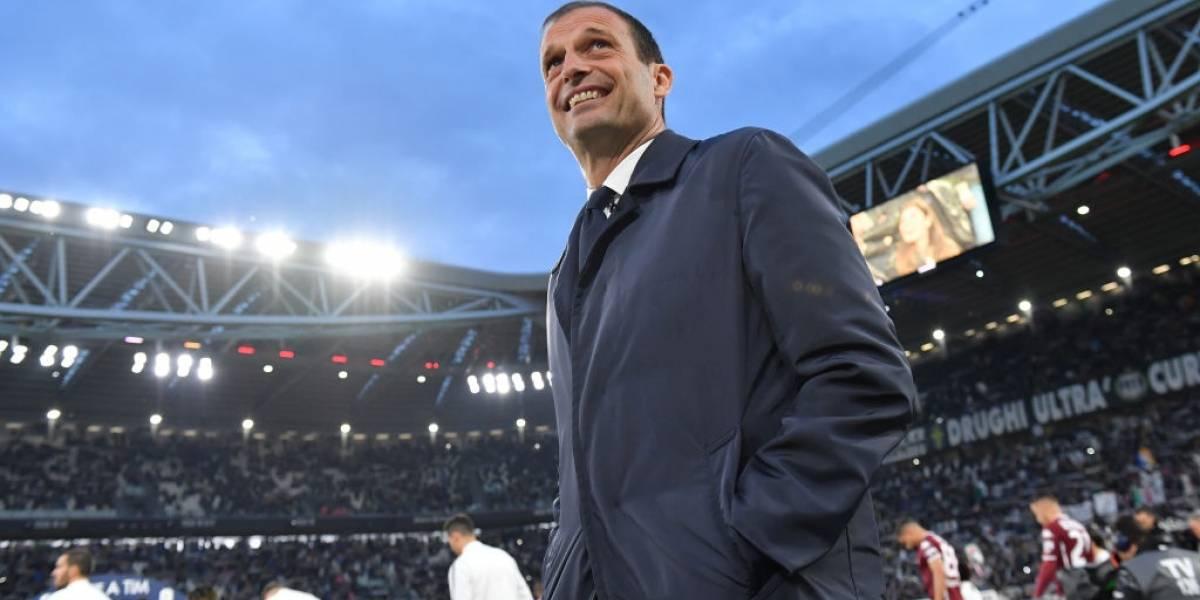 Golpe en Italia: Massimiliano Allegri comunicó que renunciará a la banca de Juventus