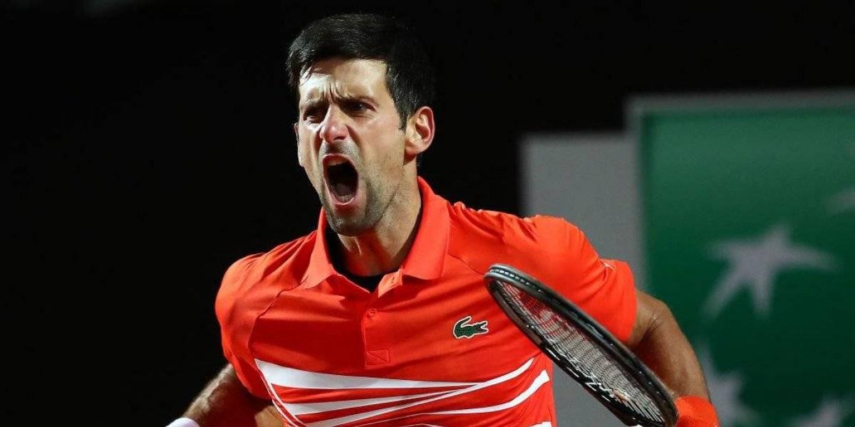 Djokovic remontó un partidazo a Del Potro y se instaló en semifinales de Roma