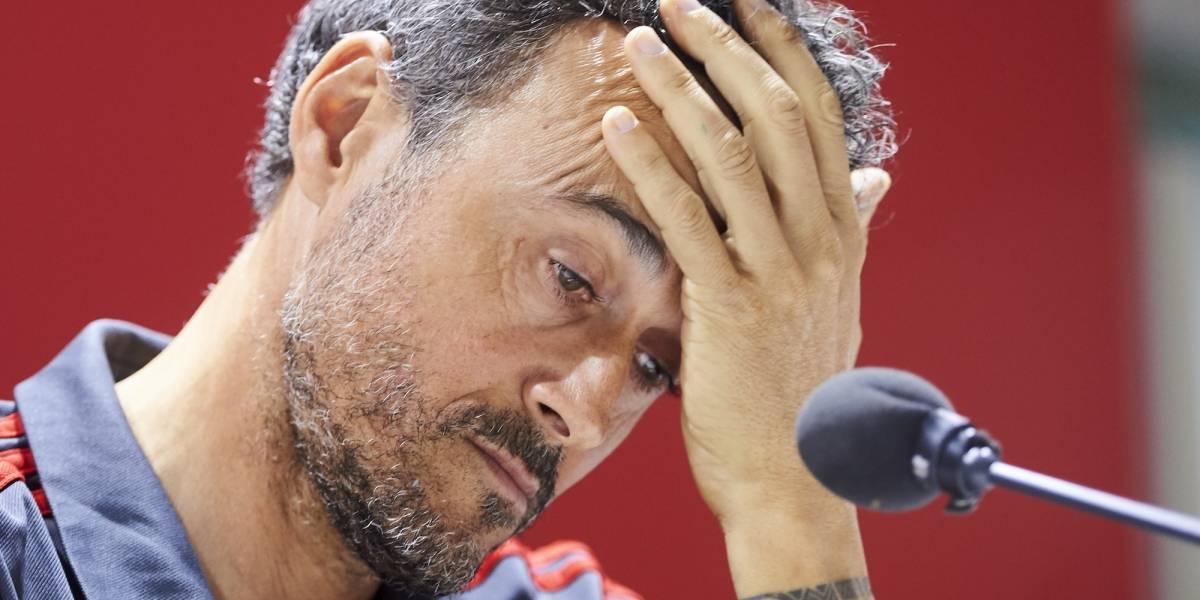 Luis Enrique sigue con graves problemas y no dirigirá a España