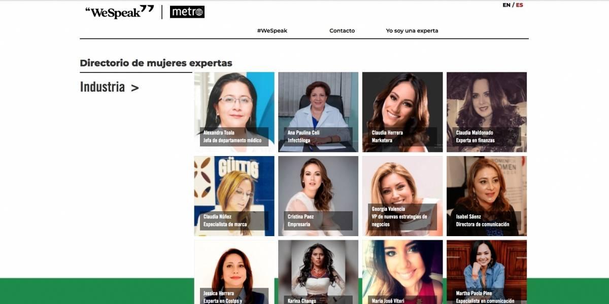We Speak: Maruri Grey presentará proyecto de equidad de género en Cannes