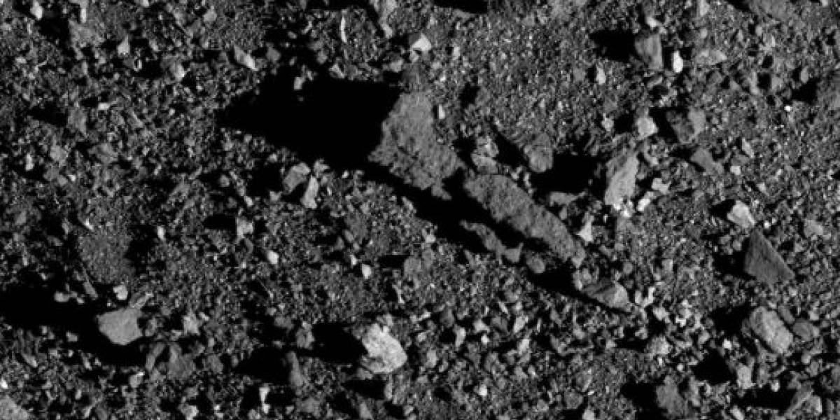 Nova foto divulgada pela NASA mostra a impressionante superfície do asteroide Bennu