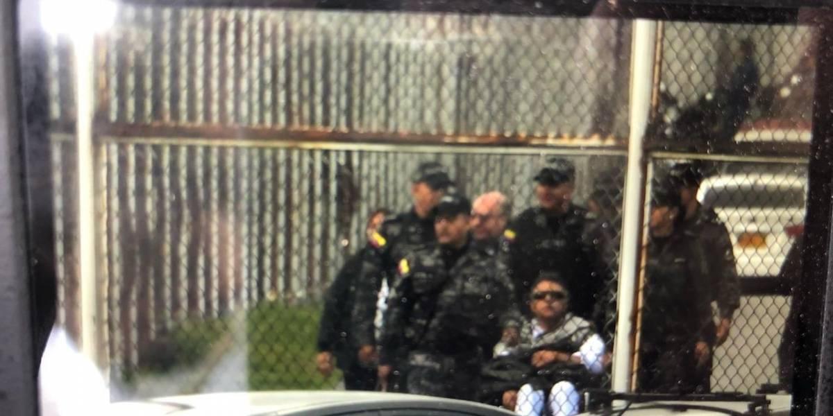 Santrich es trasladado al hospital antes de ser presentado ante juez