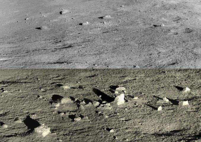 El Rover lunar de China encuentra extraños minerales en la superficie de la Luna