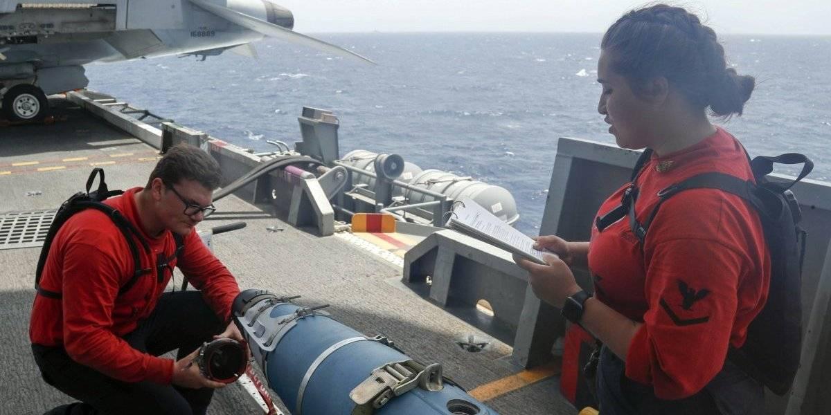 Corren riesgo los aviones que vuelan sobre el Golfo Pérsico, alega EEUU