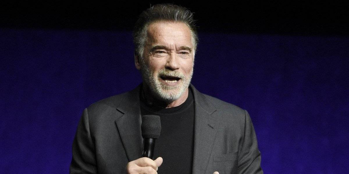 Atacan con patada voladora a Arnold Schwarzenegger